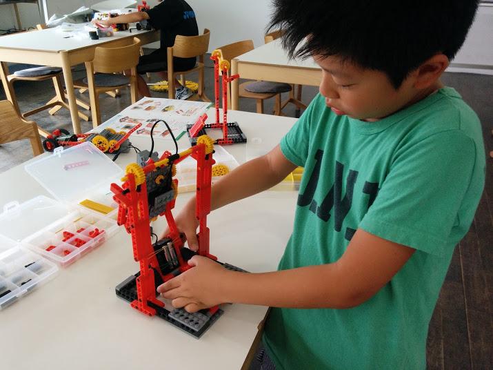 ロボット教室 ロボット製作風景6