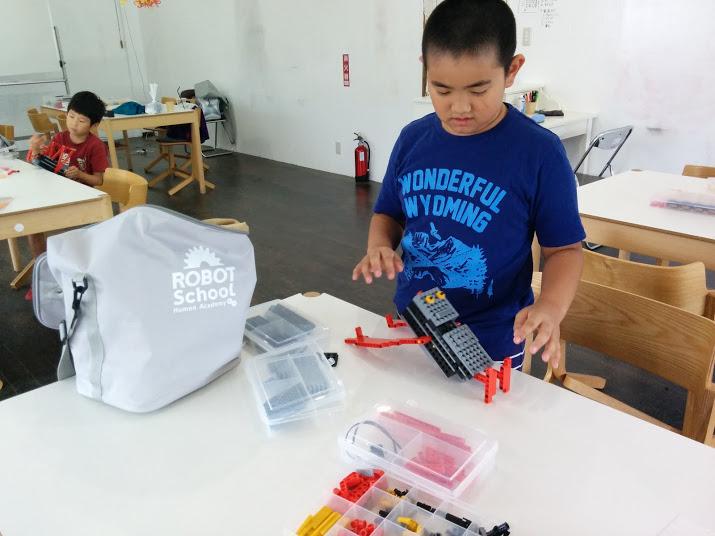 ロボット教室 ロボット製作風景4