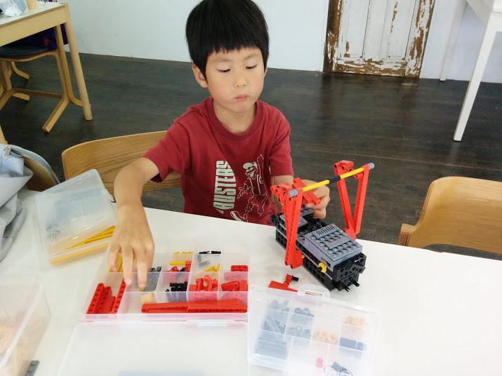 ロボット教室 ロボット製作風景3