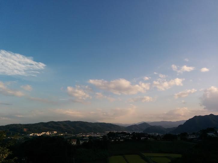 信州音楽村からの景色