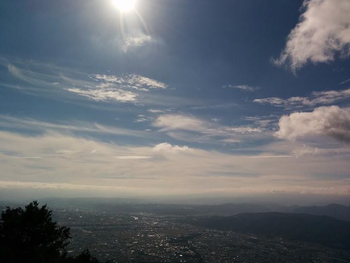 上田市 太郎山 景色