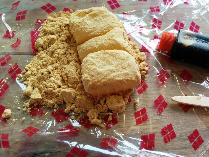 信玄餅 食べ方
