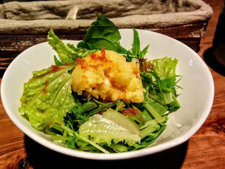 上田市室賀 山笑 旬の野菜カレーセット サラダ