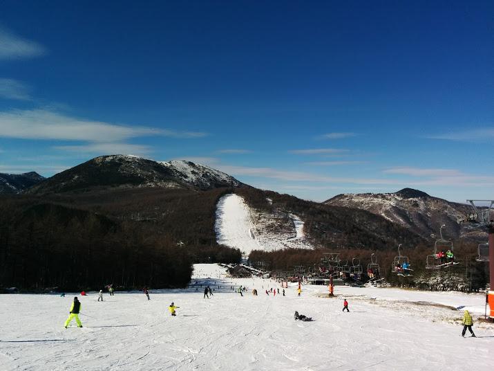 湯の丸 スキー